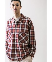 monkey time/<monkey time> CLEAR TWILL CHECK WIDE SHIRT/ワイドシャツ/502524790
