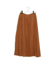 STYLEBLOCK/スタイルブロック STYLEBLOCK ラメポンチプリーツスカート (マスタード)/502525244