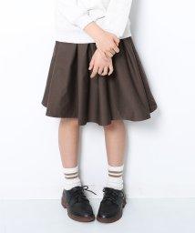 devirock/ひざ丈ギャザースカッツ/502525326