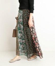 SLOBE IENA/LISA フラワーパネルスカート/502525597