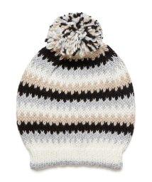 BENETTON (women)/マルチカラーポンポン付きニットワッチキャップ・ニット帽/502503382