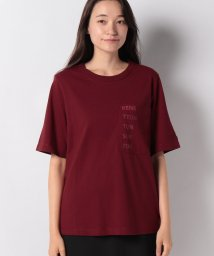 BENETTON (women)/コットンポケット付きブランドロゴTシャツ・カットソー/502503388
