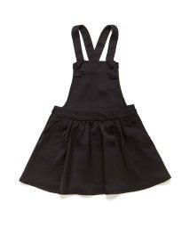 BENETTON (UNITED COLORS OF BENETTON GIRLS)/サテンブラックジャンパースカート/502519387