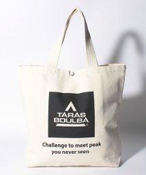TARAS BOULBA/タラスブルバ/コットントートバッグ スクエアロゴ/502526683