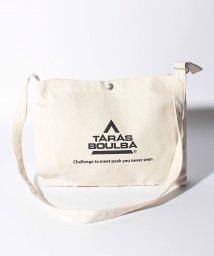 TARAS BOULBA/タラスブルバ/コットンショルダーバッグ ビックロゴ/502526686