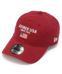 AVIREX/【Safari 11月号掲載】【×ニューエラ】ポロキャップ USA国旗/AVIREX×NEW ERA 9TWENTY POLO CAP U.S.A/501424721