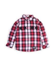 WASK/星パッチチェックシャツ(110cm~130cm)/502460635