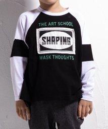 WASK/ラグランビッグTシャツ(110cm~130cm)/502460661