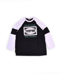 WASK/ラグランビッグTシャツ(140cm~160cm)/502460662