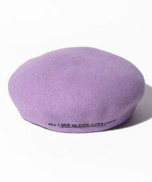 Lovetoxic/サイドロゴベレー帽/502515442