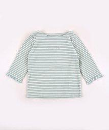 SLAP SLIP/ボーダ―7分袖メロウTシャツ/502517373