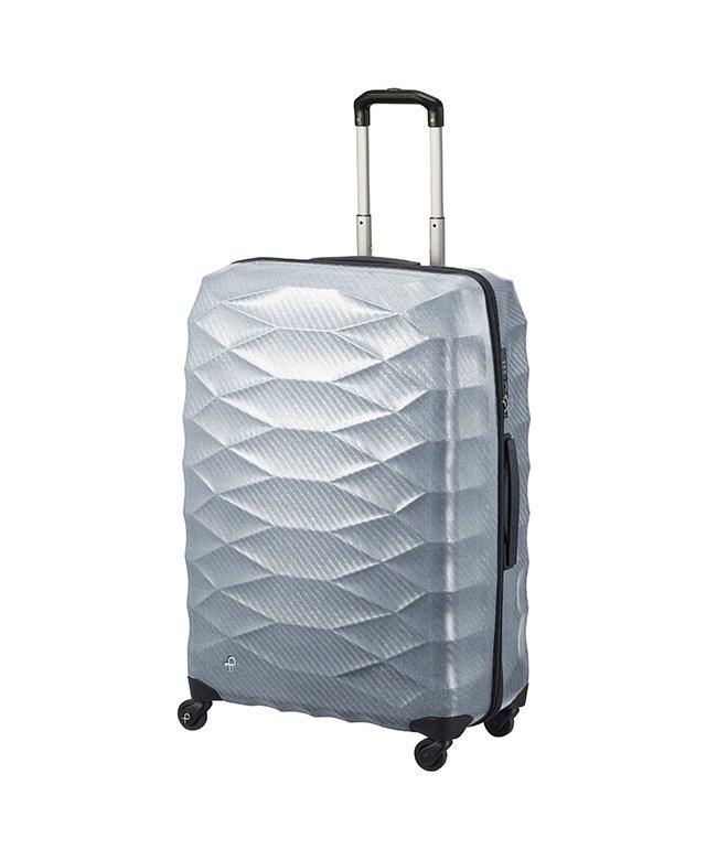 カバンのセレクション エース プロテカ エアロフレックスライト スーツケース 軽量 受託手荷物規定内 Lサイズ 93L ACE 01824 ユニセックス グレー フリー 【Bag & Luggage SELECTION】