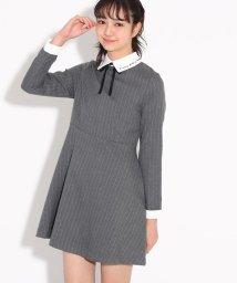 PINK-latte/【卒服】襟付ワンピース/502529648