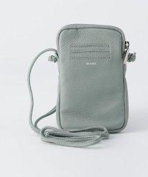 fredy emue/[新色追加]【Beau're/ビュレ】レザージップ携帯ポシェット/501949961