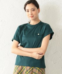 LOVELESS WOMEN/【TVドラマ着用】【LOVELESS】WOMEN アシメスリーブポケットTシャツ/502014738