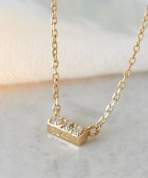 Phoebe/【K10】スリーダイヤモンドネックレス/502478418