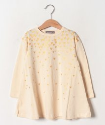 nico hrat/ハートフレアーロングTシャツ/502520223