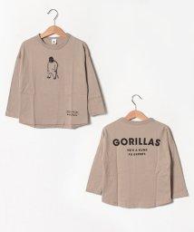 JEANS‐b/GORILLASロングTシャツ/502520230