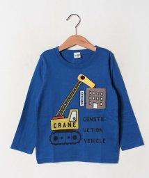 CHEEK ROOM/クレーン車ロングTシャツ/502520239
