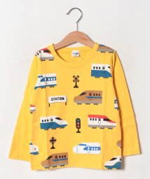 CHEEK ROOM/電車ロングTシャツ/502520243