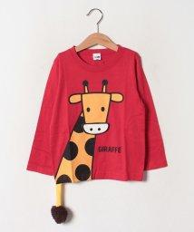 CHEEK ROOM/きりんロングTシャツ/502520244