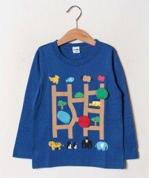 CHEEK ROOM/あみだロングTシャツ/502520249