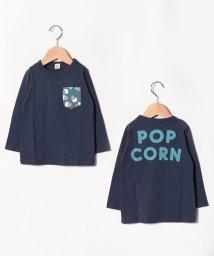 JEANS‐b2nd/POPCORNロングTシャツ/502520297