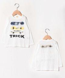 JEANS‐b2nd/TRICKロングTシャツ/502520649