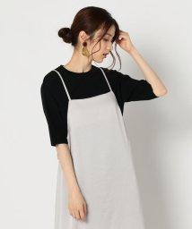 NOLLEY'S/袖針抜きクルーネックニットTシャツ/502521757