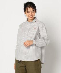 FREDY&GLOSTER/【DANTON/ダントン】丸えりOXFORDストライプシャツ #JD-3564 TRD/502521825