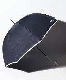pink trick/【晴雨兼用傘】プチリボンポイント深張長傘 (UVカット&軽量)/502523790