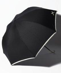 pink trick/【晴雨兼用傘】プチリボンプリント折りたたみ傘 (UVカット&軽量)/502523793
