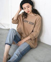 Bou Jeloud/ヘビーウェイトロゴBIGTシャツ/502524487