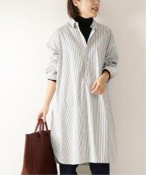 Spick & Span/≪予約≫パールボタンロングシャツ◆/502531200