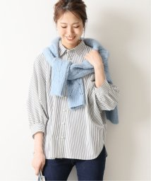 Spick & Span/≪予約≫パールボタンギャザーシャツ◆/502531201