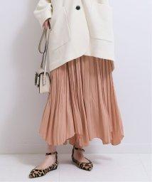 NOBLE/【otona MUSE12月号掲載】アシンメトリープリーツスカート◆/502531207