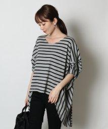 SCOTCLUB/SCOTCLUB(スコットクラブ) ボーダーデザインTシャツ/502498992