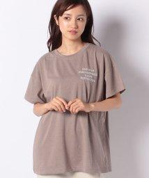INGNI/胸ロゴTシャツ                               /502458596