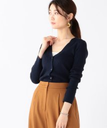 BEAMS OUTLET/Demi-Luxe BEAMS / リブ Vネック カーディガン/502478261