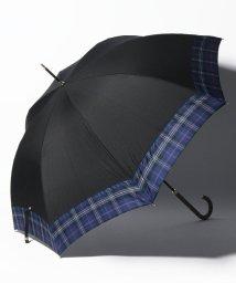 Afternoon Tea LIVING/先染めタータンチェック柄晴雨兼用長傘 雨傘/502515302