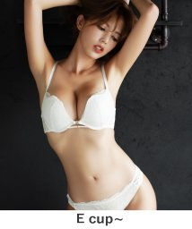 tu-hacci/フロントWホックブラ&ショーツ【E~Fサイズ】/502533651