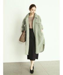 Mila Owen/ベルト付ボンディングセットアップタイトスカート/502534069