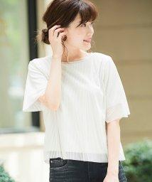 le.coeur blanc/チュールレイヤードTシャツ/502492356