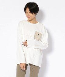 AVIREX/ステッチング ポケット Tシャツ/STITCHING POCKET T-SHIRT/502535060