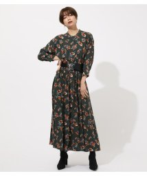 AZUL by moussy/FLOWER BROWSING ONEPIECE/502535575
