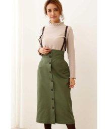 PROPORTION BODY DRESSING/◆サスペンダー付きワークタイトスカート/502535617