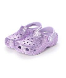 CROCS/クロックス crocs クロッグサンダル Classic Glitter Clog K Lavender 205441-530 ミフト mift/502536370