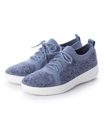 FITFLOP/フィットフロップ fitflop F-SPORTY UBERKNIT SNEAKERS - METALLIC WEAVE (Powder Blue/Aurora/502536444