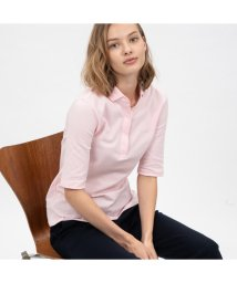 LACOSTE/スリムフィットポロシャツ (五分袖)/501572808