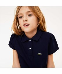 LACOSTE KIDS/GIRLS スカラップカラー ミニピケポロシャツ/501617038